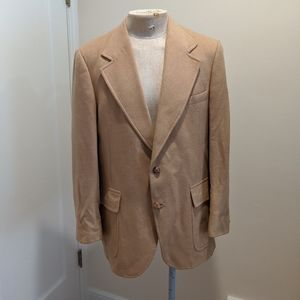 Union Made 100% Camel Hair Coat